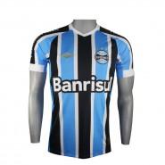 Camisa Masculina Umbro Grêmio Oficial Jogo I FAN 2015 600174 Listrada  (Celeste Preto  6e27cabfabfa1