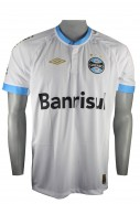 Camisa Masculina Umbro Grêmio Oficial Jogo II FAN 2015 600624 Branco da2c5be4caba0