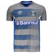 Camisa Masculina Umbro Grêmio Treino 2017 4G160041-832 Cinza Azul 9daeeb16ac