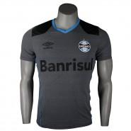 Camisa Masculina Umbro Sem Número Grêmio Aquecimento 2016 3G11003 831  Mescla Azul Celeste Preto d3d287fe33e89