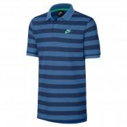 4830bdfa7c509 Camisa Polo Masculina Nike NSW 832881-443 Azul Verde