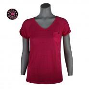 Blusa Casual Fit Básica Devore Etnico Rosa Tatuada 4412 11 Rosa 966d76c4d6823