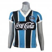 4ed3f42e415cd Camiseta Feminina Dilva Oldoni Grêmio Retro 1989 G551 Tricolor