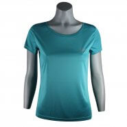 Camiseta Feminina Speedo Interlock UV50 071337Q Acqua