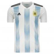 Camiseta Masculina Adidas Argentina 1 2018 BQ9324 Branco Azul 130d46b32d1ad