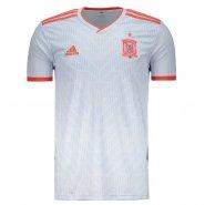 Camiseta Masculina Adidas Espanha 2 2018 BR2697 Branco d31dcecbfc3c5