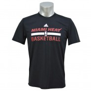 Camiseta Masculina Adidas Miami Heat HPS Game