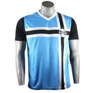 8a04dc662b22b Camiseta Masculina Grêmio Retro 1983 Poa NC18014 Azul Preto