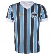 Camiseta Masculina Umbro Grêmio Retrô 1983 1e4d1d3cab7ec