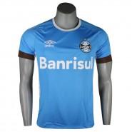 Camiseta Masculina Umbro Grêmio Treino 2016 Sem Número 3G11002 320 Azul  Celeste Branco ac5e7177cf344