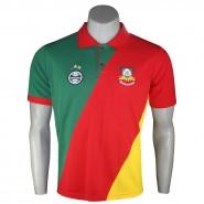 Camiseta Polo Masculina Dilva Oldoni Grêmio G373 Verde Amarelo Vermelho 395061f3b32
