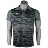 Camiseta Polo Masculina Kappa Jenner KP0127001 044 Chumbo 9f2b91c92bb57
