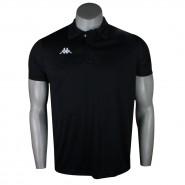 Camiseta Kappa Polo Masculina Sewill 302UXT0 N001 Preto 42d7f5f670d3a