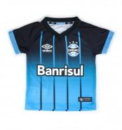 Camiseta Umbro Grêmio Infantil 2016 3G00063 Preto Azul Branco 5e62cd18e4802