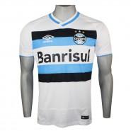 Camiseta Umbro Grêmio Oficial 2 2016 Fan 3G00054.231 Branco Azul Preto 097977074cd24