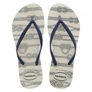 Sandália Havaianas Slim Nautical 4137125-0001 Branco