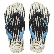 Sandália Havaianas Top Optical Zig Zag 4118790-4747 Preto/Branco