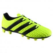 Chuteira Campo Ace 16.4 FXG Adidas S42137 Verde Preto 95edef3ef3deb