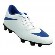 c246e7f663 Chuteira Campo Nike Bravata II 844436-142 Branco Azul