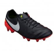 54495f7d48 Chuteira Campo Nike Tiempo Legacy II FG 819218-018 Preto Salmão
