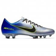 2f4f0c9608 Chuteira Campo Nike Mercurial Victory VI Neymar 921509-407 Azul Prata Verde
