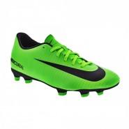 4ae60e5977 Chuteira Campo Nike Mercurial Vortex III FG 831969-303 Verde Preto