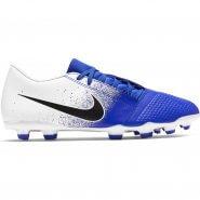 6ee68e209 Chuteira Campo Nike Phanton Venom Club AO0577-104 Azul Branco