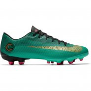 Chuteira Campo Nike Vapor 12 Academy CR7 AJ3721-390 Verde 7375b289517df