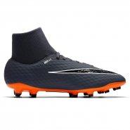 Chuteira Nike Hypervenom Phantom 3 Academy DF (FG) AH7268-081 Cinza Escuro  9df5f24a5836f