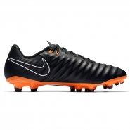 28810165e3 Chuteira Nike Tiempo Legend 7 Academy AH7242-080 Preto Laranja