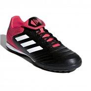 Chuteira Society Adidas Copa Tango 18.3 TF CP9022 Preto Coral Branco b590c5f614ecd