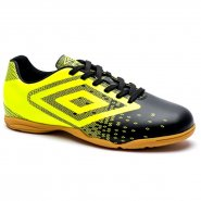 Indoor Futsal Umbro Flux 0F72083-166 Preto/Lima