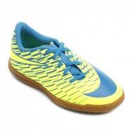 Indoor Infantil Nike Bravata 2 IC 844438-700 Verde Limão Azul a2a1865b637fb