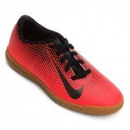 Indoor Infantil Nike Bravata 2 IC 844438-601 Vermelho Preto 5b10ad45d6464