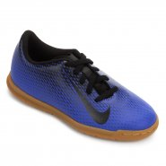 bc4f09c7437ed Indoor Infantil Nike Bravata 2 IC 844438-400 Azul Preto