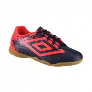 Indoor Infantil Umbro Acid JR 0F82048-770 Marinho/Coral