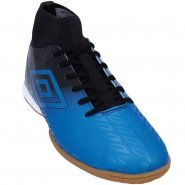 Indoor Masculino Umbro Calibra OF72078-311 Azul Preto bf46423ed556d