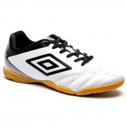 Indoor Masculino Umbro Striker IV 0F72099-211 Branco Preto 3c75819166172