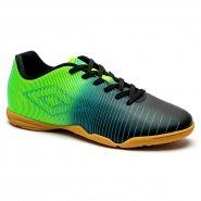 a880511d15 Indoor Masculino Umbro Vibe 0F72086-153 Preto Verde Azul