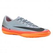 Indoor Nike Mercurialx VI CR7 852526-001 Prata Laranja 6d87a1c61ea81