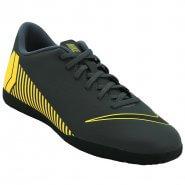 058e028dc8 Indoor Nike Vaporx 12 Club IC AH7385-070 Cinza Amarelo