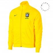 Jaqueta Masculina Nike Brasil CBF 891587-749 Amarelo a456c413982bd