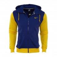 Jaqueta Masculina Nike Club Hoody 637905-457 Azul Amarelo 4a1739753cb59