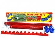 Kit Master Rede Mini Soccer 2 Traves Com Redes