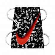 19e009e609167 Sacola Ya Graphic Nike Gymsack BA5262-023 Preto Vermelho