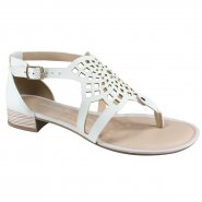 Sandália Feminina Dakota Z4353 0001 Branco/Snow (Florencia/Native)