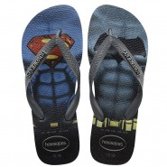 Sandália Havaianas Batman vs Superman 4137016-3596 Preto/Cinza