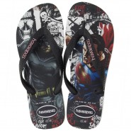 Sandália Havaianas Batman vs Superman 4137016-0128 Branco/Preto