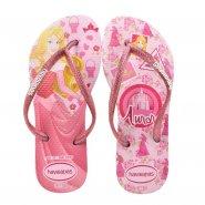 c270edfb0c5d Sandália Infantil Havaianas Kids Slim Princess 4123328 2108 Rosa Quartz