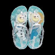 a5a434f4bba90 Sandália Infantil Ipanema Frozen Forever 25987-23412 Azul Prata